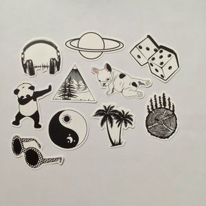 10 VSCO waterproof vinyl stickers